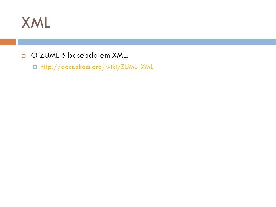 XML O ZUML é baseado em XML: http://docs.zkoss.org/wiki/ZUML_XML