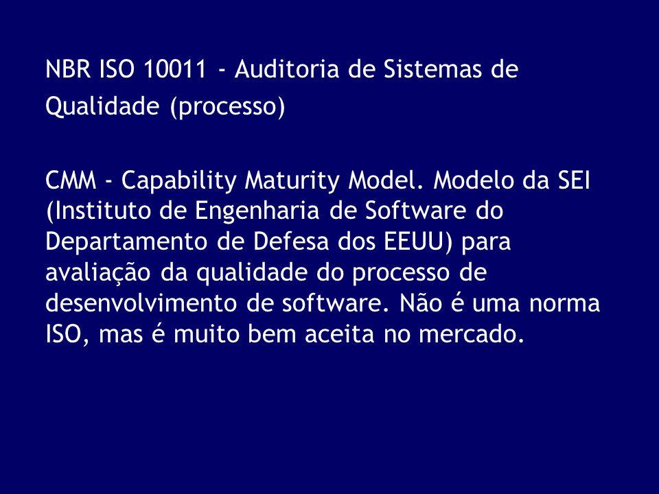 NBR ISO 10011 - Auditoria de Sistemas de