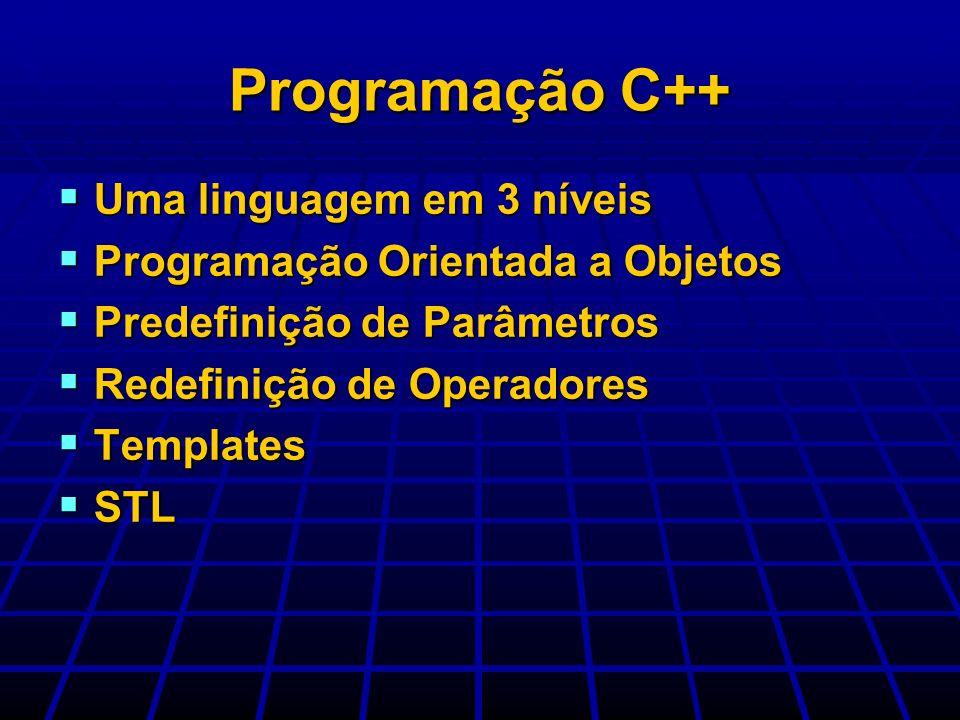Programação C++ Uma linguagem em 3 níveis