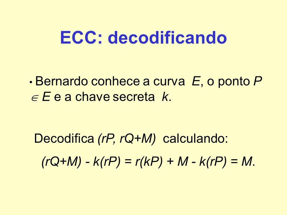 (rQ+M) - k(rP) = r(kP) + M - k(rP) = M.