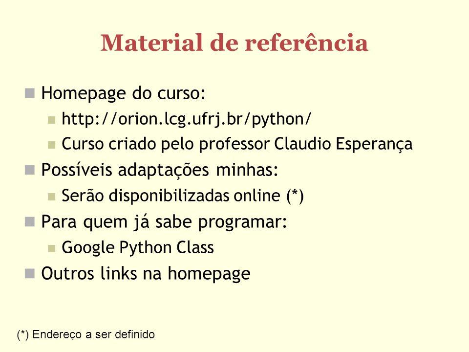 Material de referência