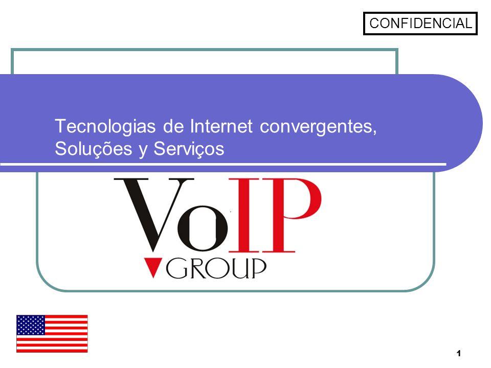 Tecnologias de Internet convergentes, Soluções y Serviços