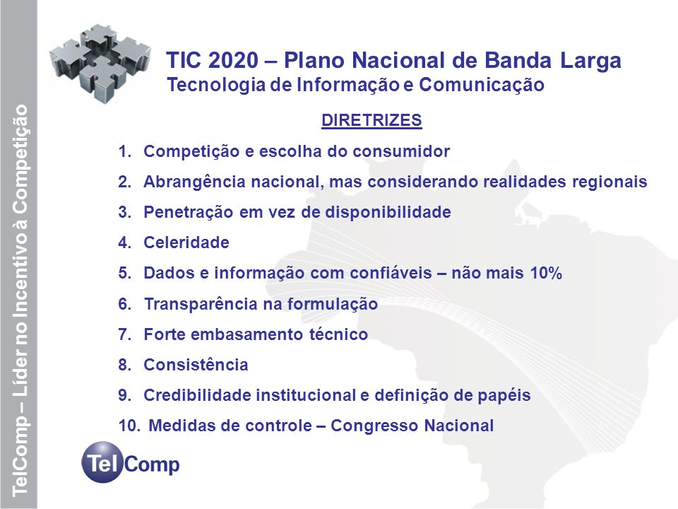 TIC 2020 – Plano Nacional de Banda Larga