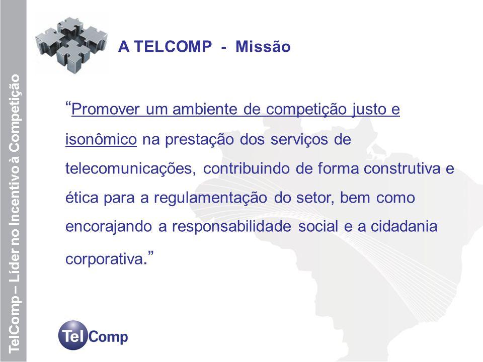 A TELCOMP - Missão