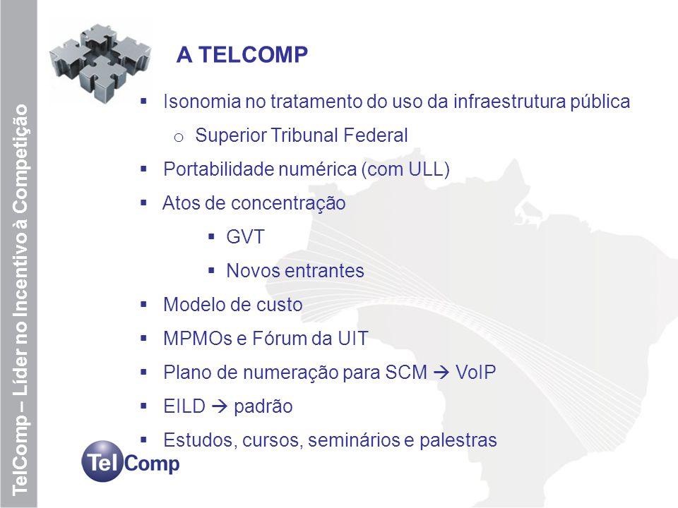 A TELCOMP Isonomia no tratamento do uso da infraestrutura pública