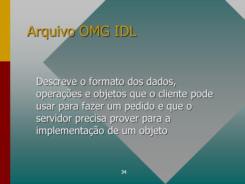 Arquivo OMG IDL