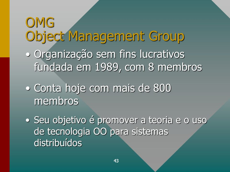 OMG Object Management Group