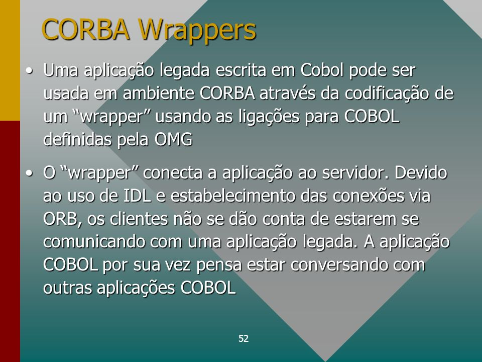 CORBA Wrappers