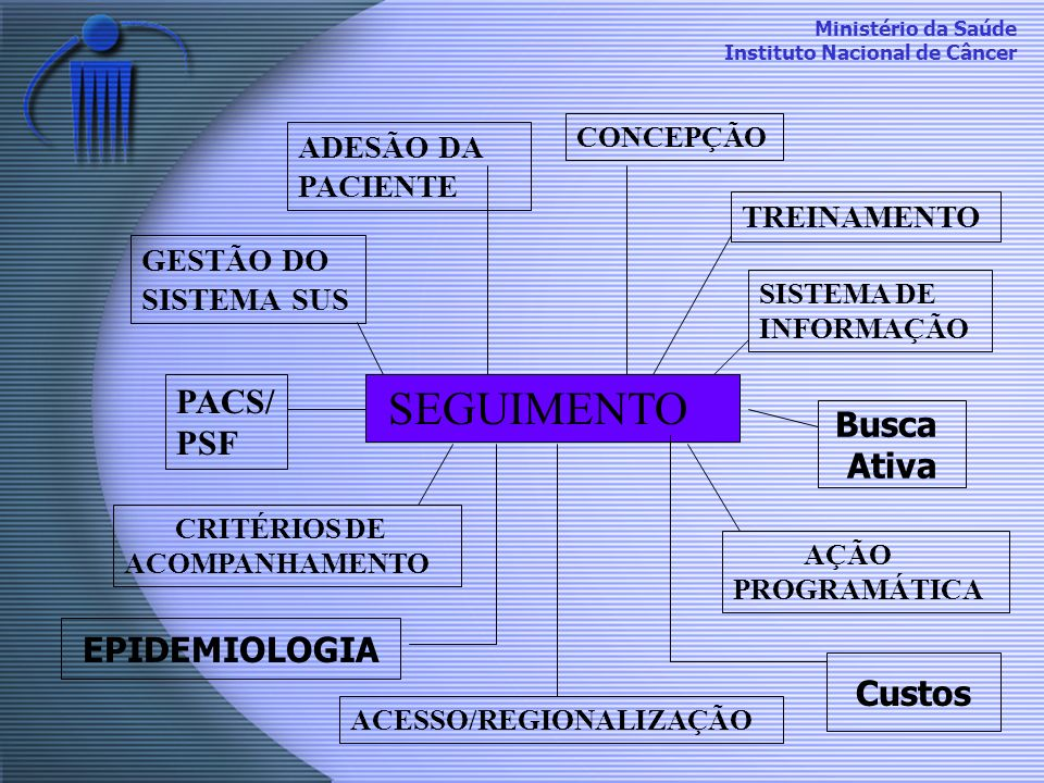 SEGUIMENTO PACS/PSF Busca Ativa EPIDEMIOLOGIA Custos