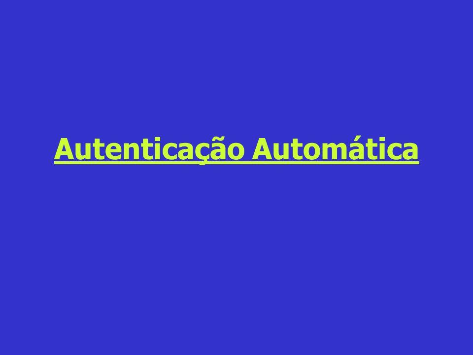 Autenticação Automática