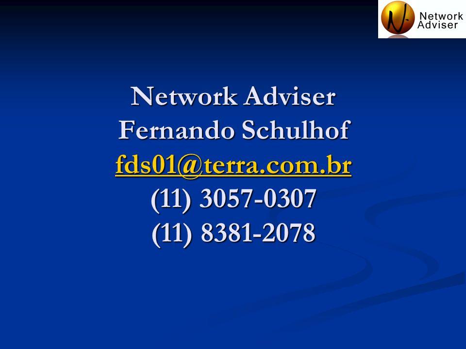 Network Adviser Fernando Schulhof fds01@terra. com