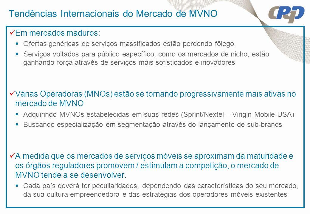 Tendências Internacionais do Mercado de MVNO