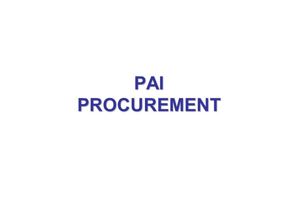 PAI PROCUREMENT