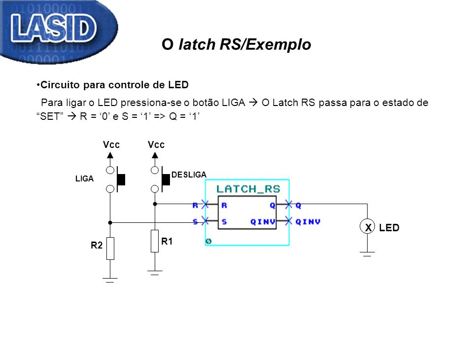 O latch RS/Exemplo