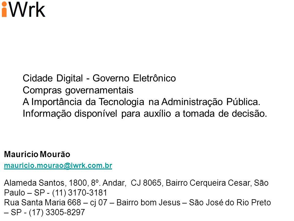 Cidade Digital - Governo Eletrônico