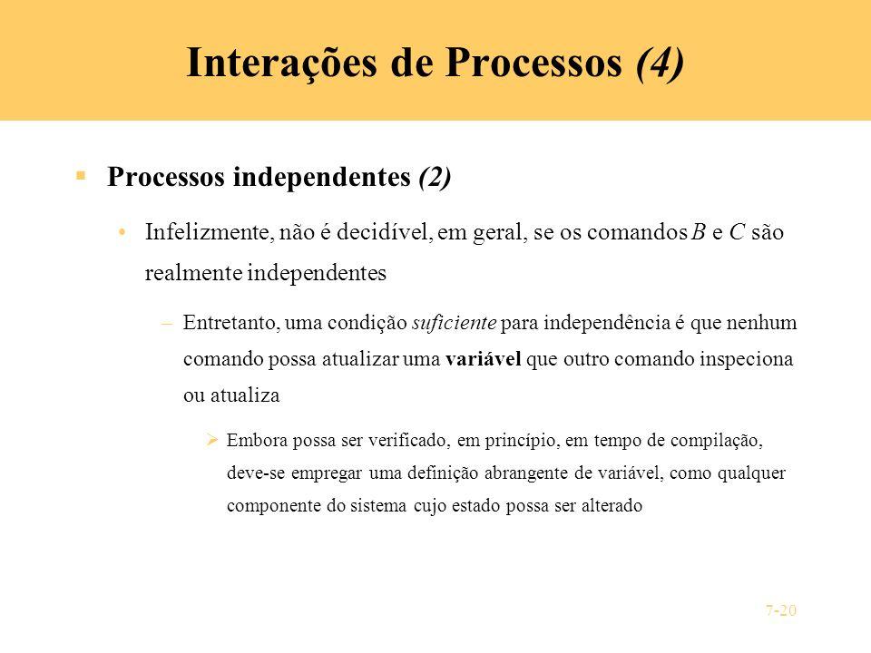Interações de Processos (4)