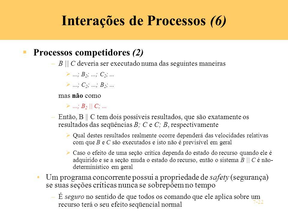 Interações de Processos (6)
