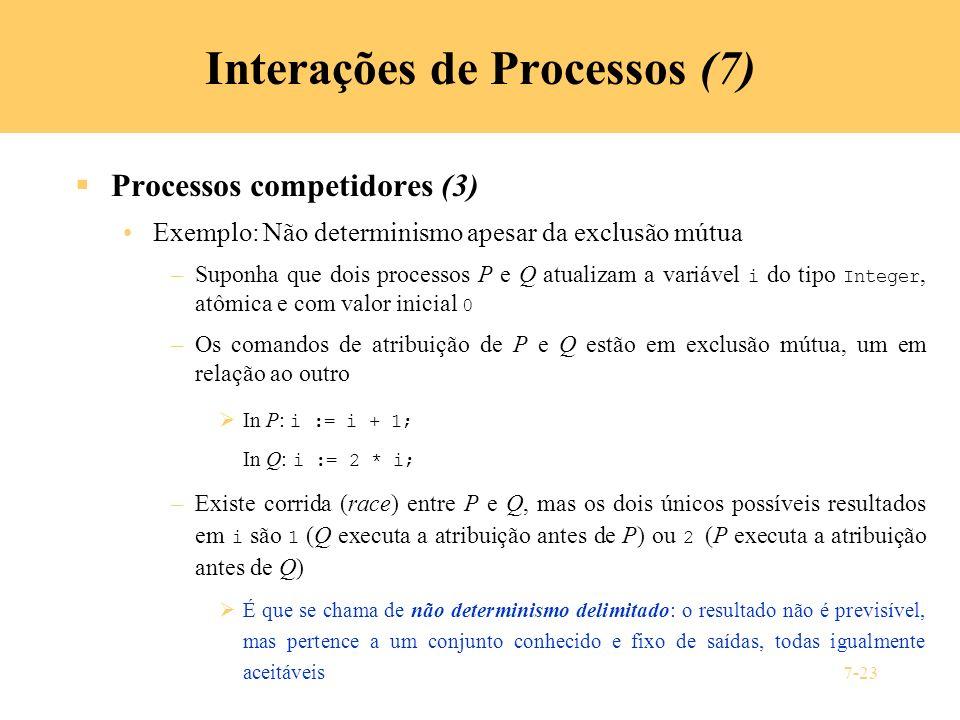 Interações de Processos (7)