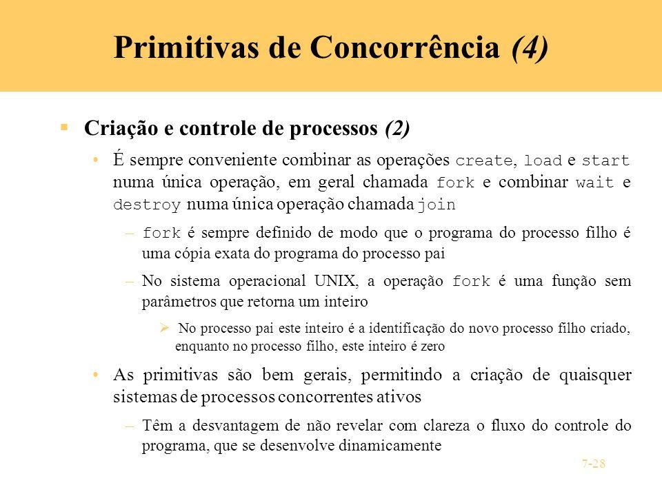 Primitivas de Concorrência (4)