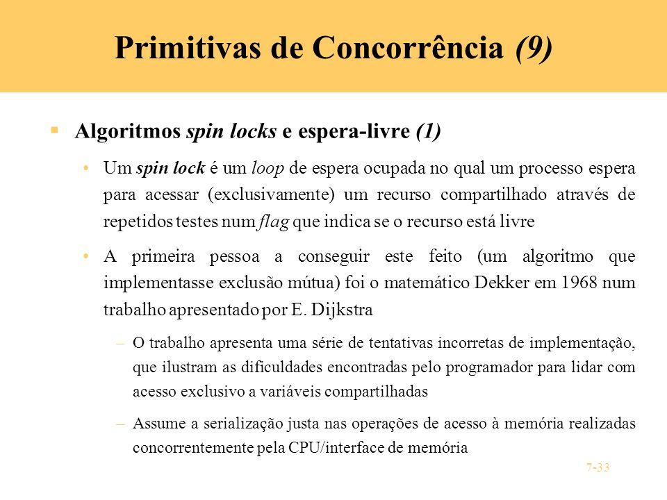 Primitivas de Concorrência (9)