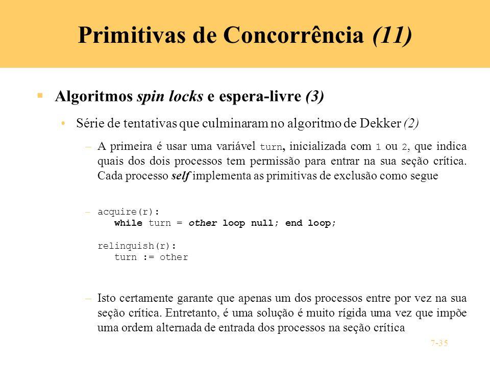 Primitivas de Concorrência (11)