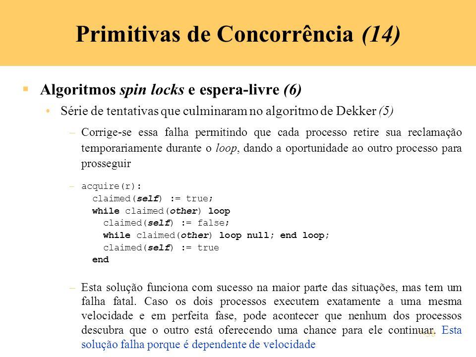 Primitivas de Concorrência (14)