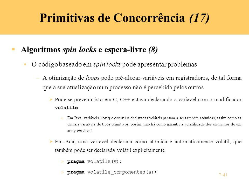 Primitivas de Concorrência (17)