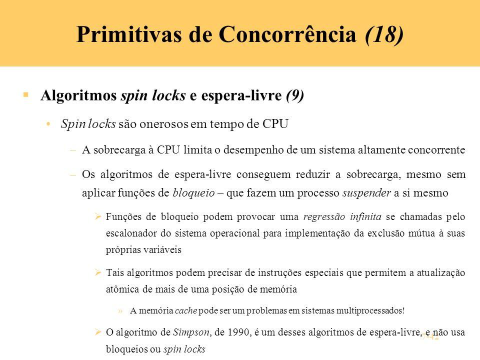 Primitivas de Concorrência (18)