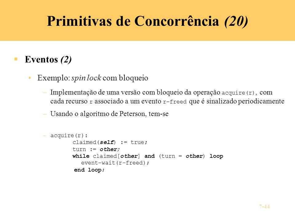 Primitivas de Concorrência (20)