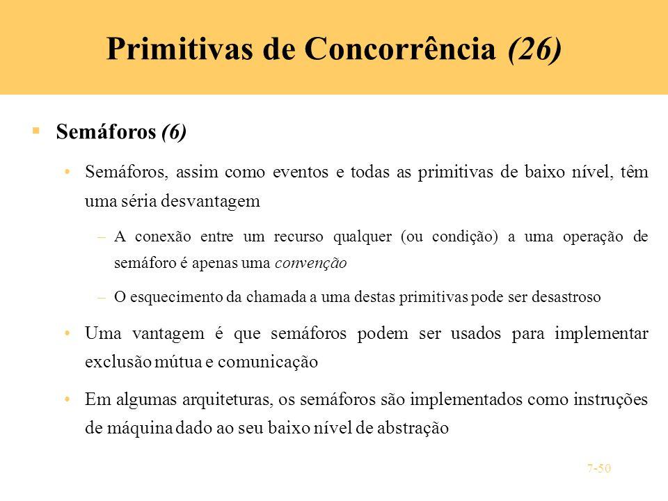 Primitivas de Concorrência (26)