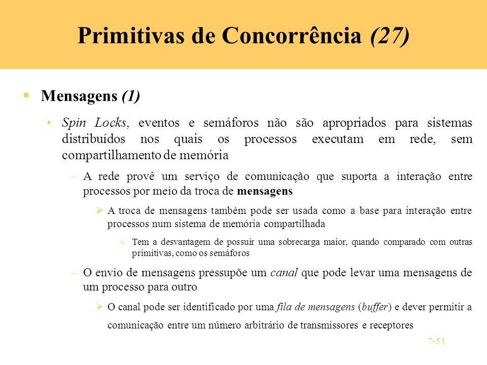Primitivas de Concorrência (27)