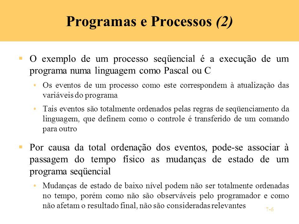 Programas e Processos (2)