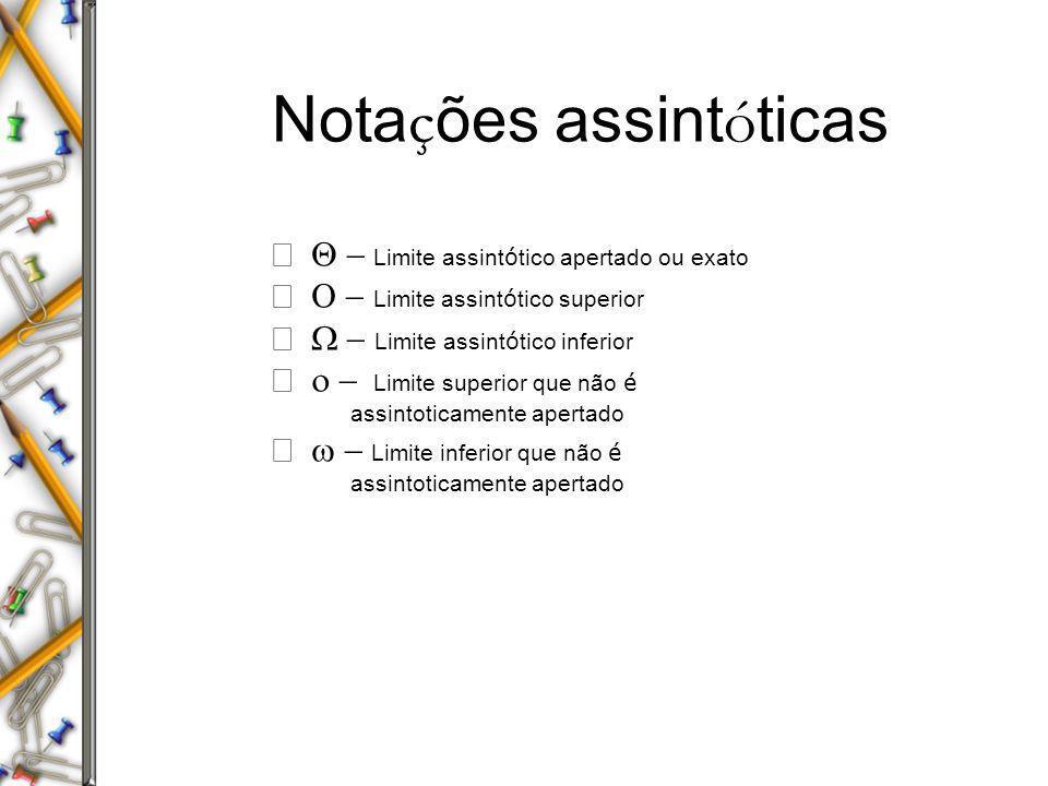 Notações assintóticas