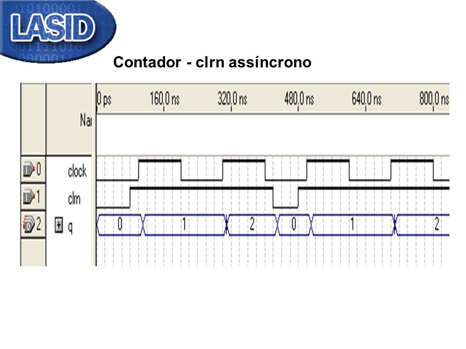 Contador - clrn assíncrono