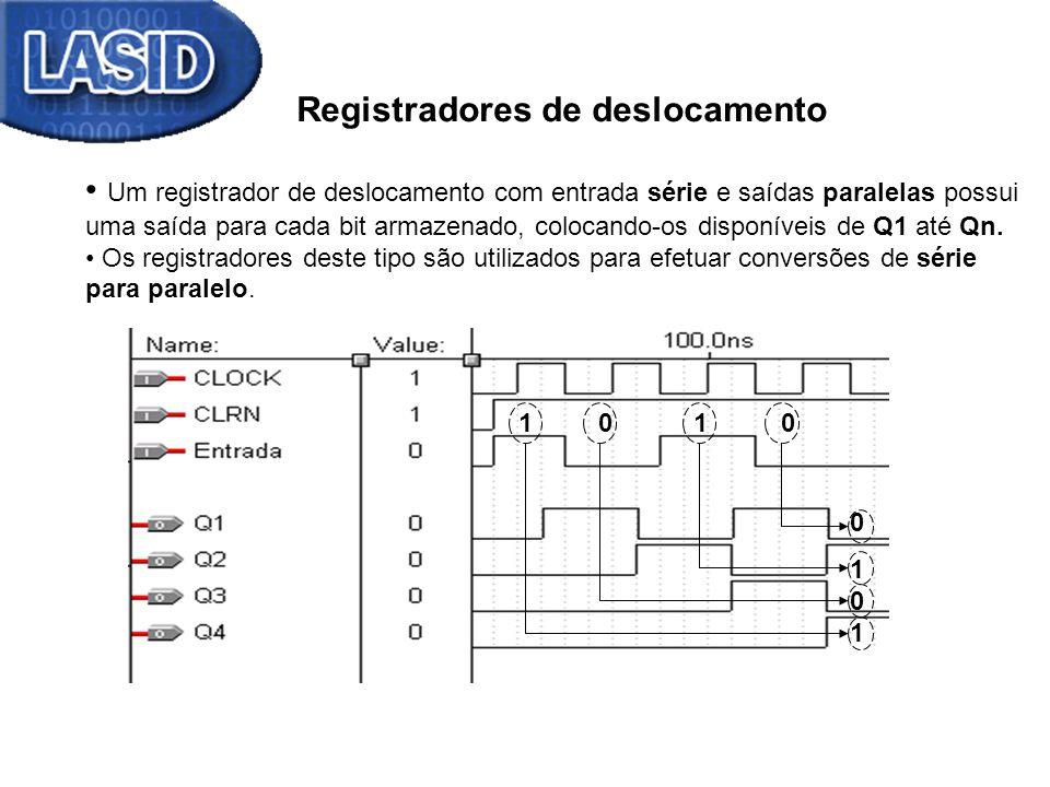Registradores de deslocamento