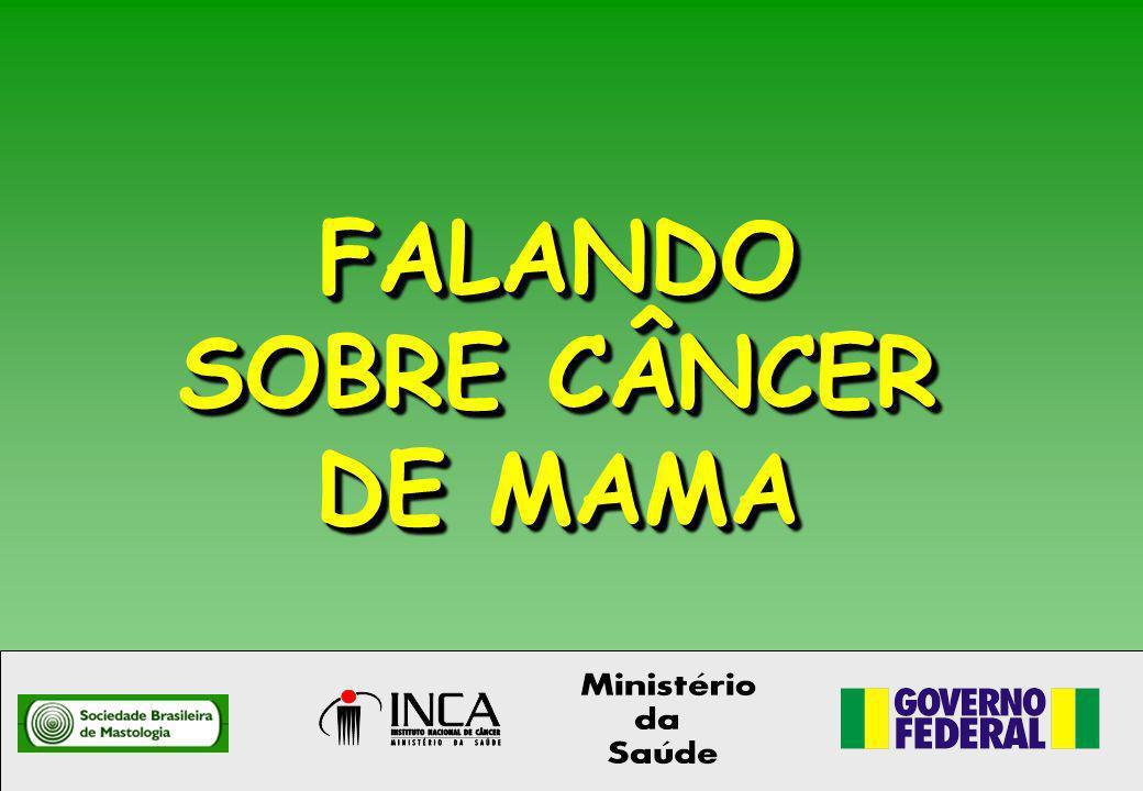 FALANDO SOBRE CÂNCER DE MAMA