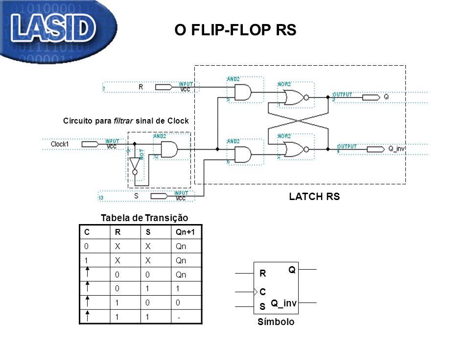 Circuito para filtrar sinal de Clock