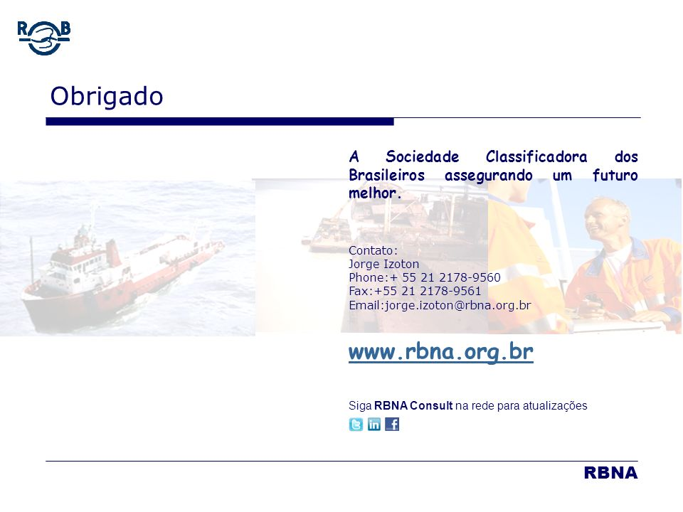 Obrigado www.rbna.org.br RBNA