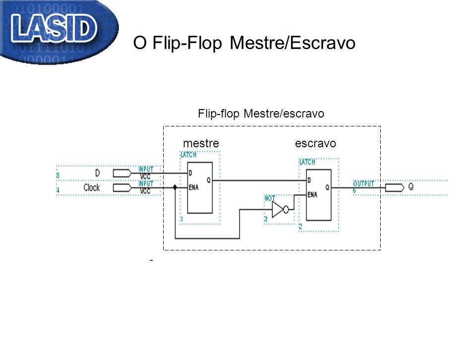 O Flip-Flop Mestre/Escravo