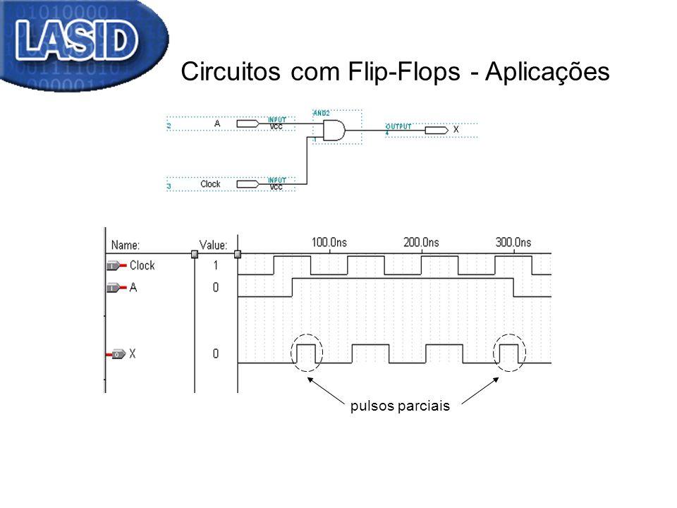 Circuitos com Flip-Flops - Aplicações