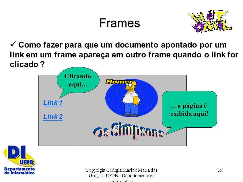 Frames  Como fazer para que um documento apontado por um