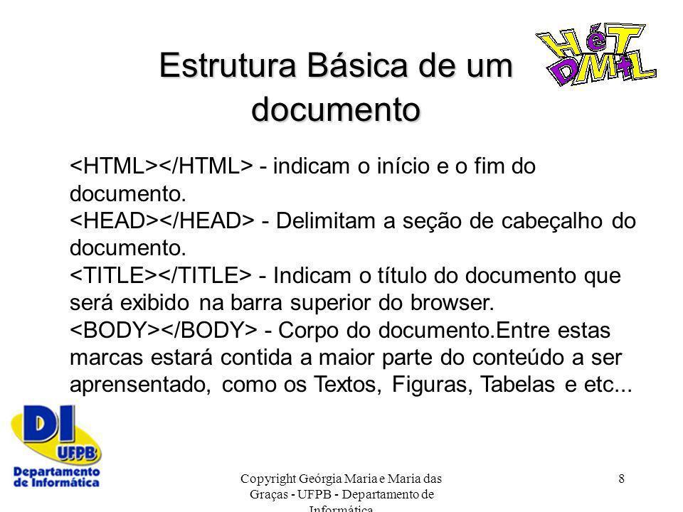 Estrutura Básica de um documento