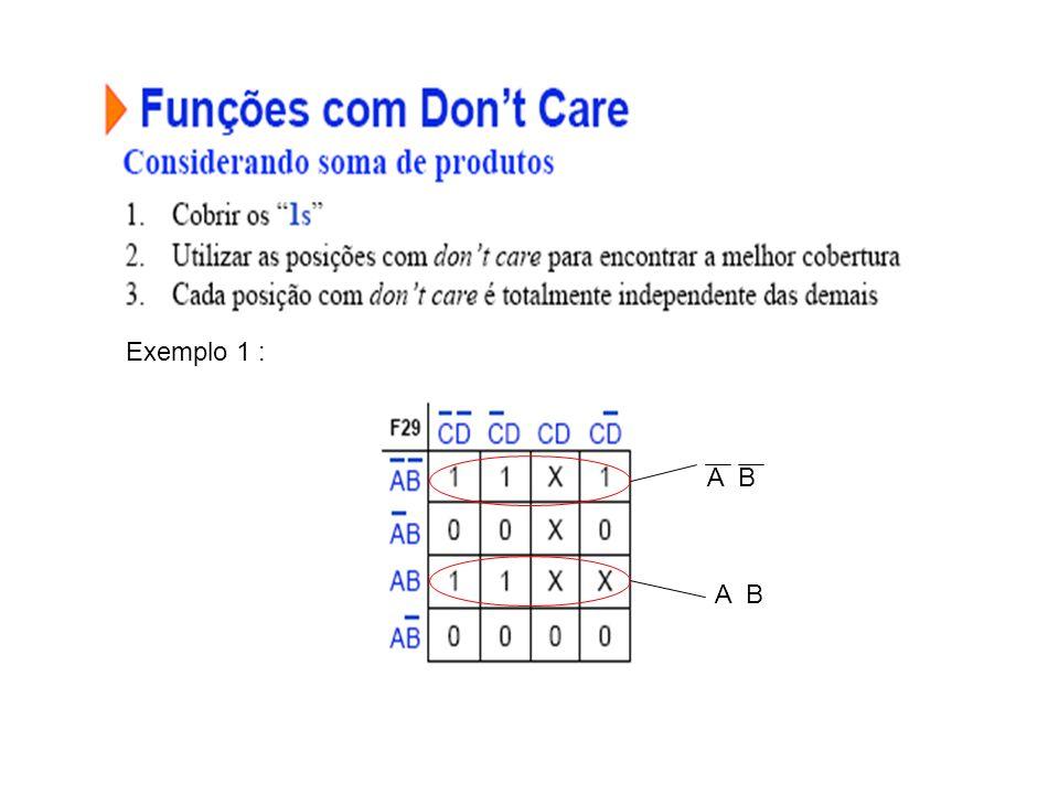 Exemplo 1 : A B A B