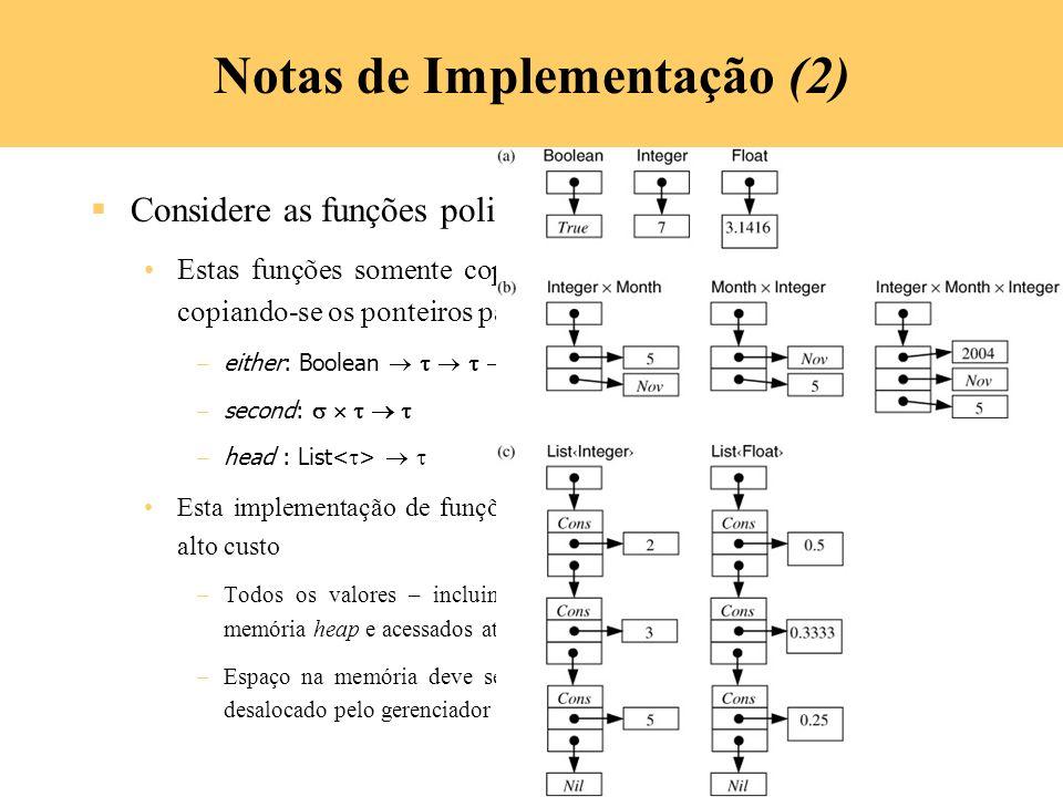 Notas de Implementação (2)