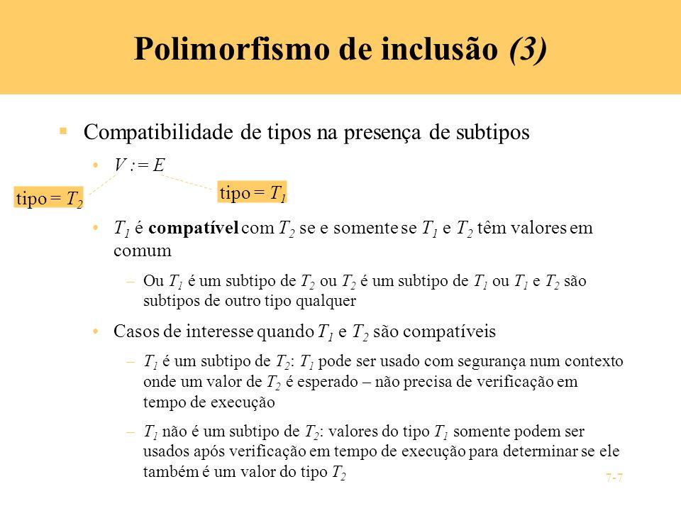 Polimorfismo de inclusão (3)
