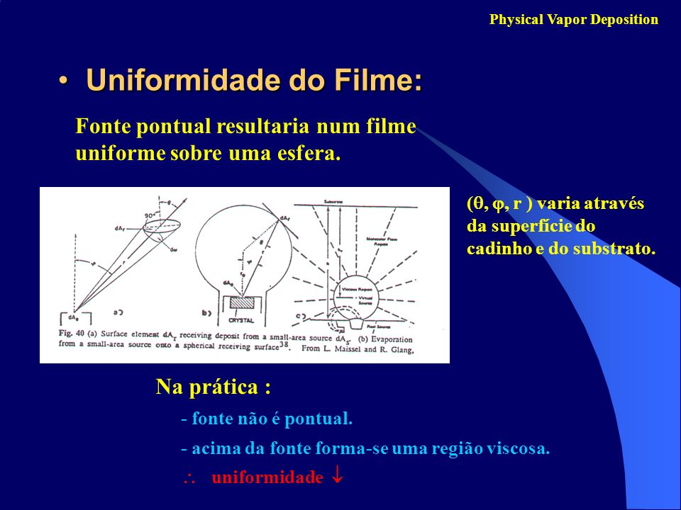 Uniformidade do Filme: