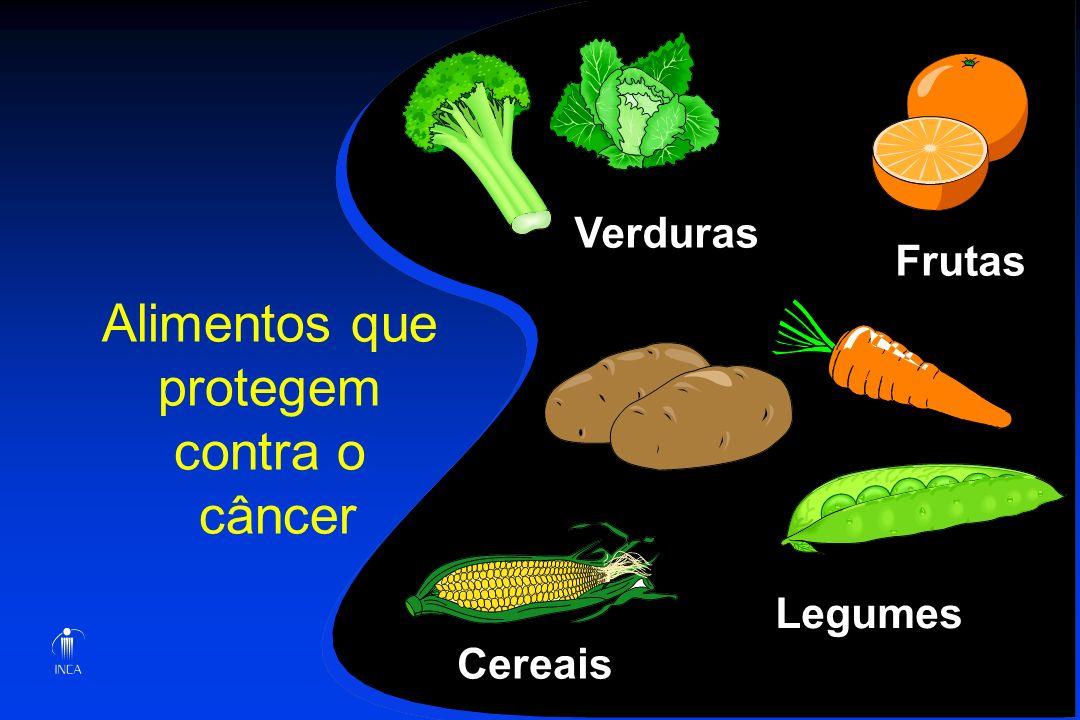 Alimentos que protegem contra o câncer