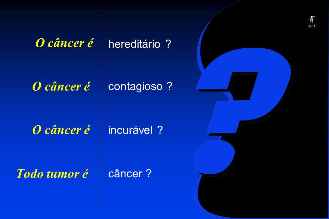 O câncer é O câncer é O câncer é Todo tumor é