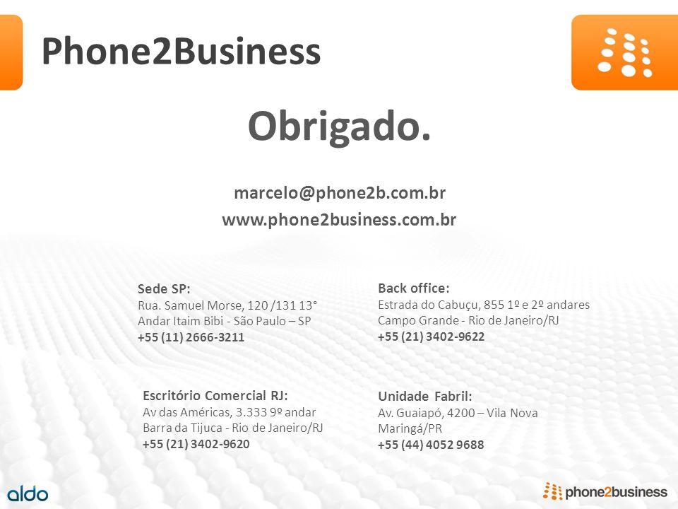 Obrigado. Phone2Business marcelo@phone2b.com.br