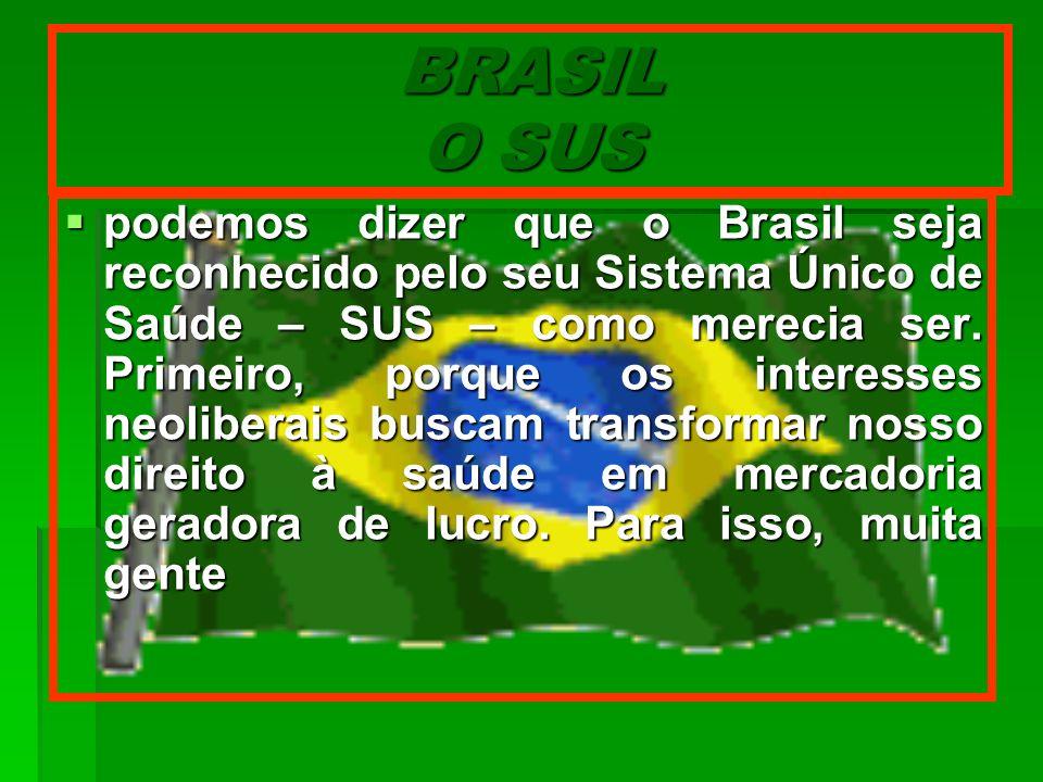 BRASIL O SUS